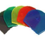 Okrogli DVD/CD box večbarvni (siv, zelen, rumen, rdeč, moder)